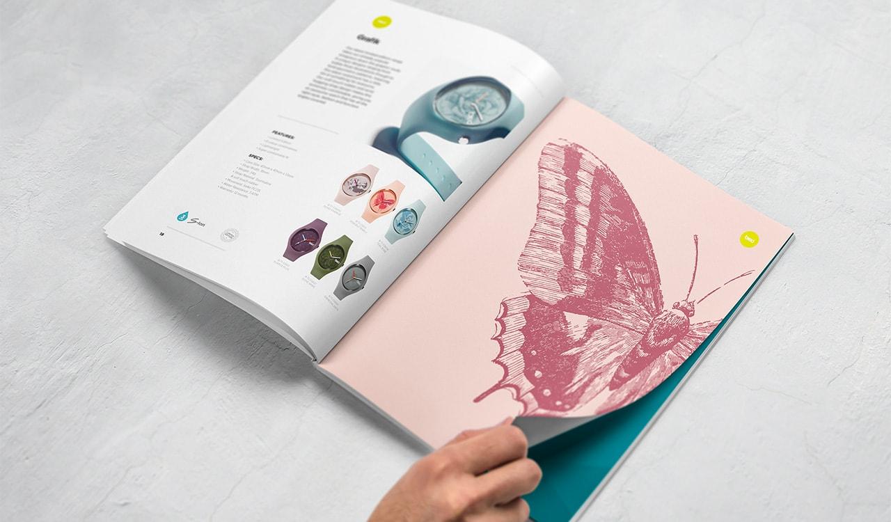 Breo Brochure Design Watches