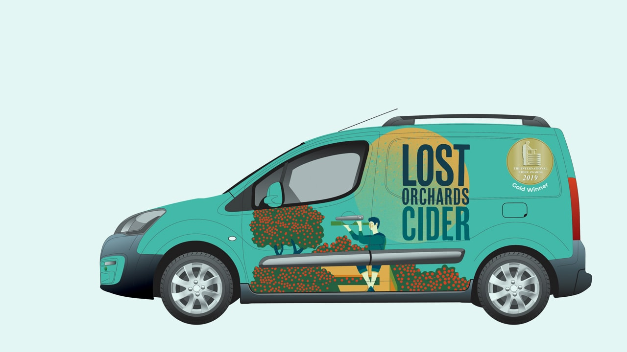 Lost Orchards Vehicle Design