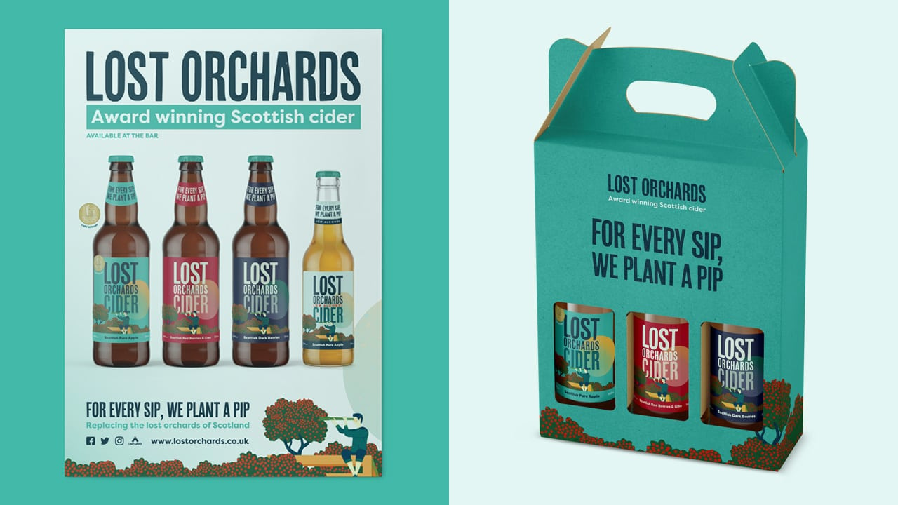Lost Orchards Packaging Design