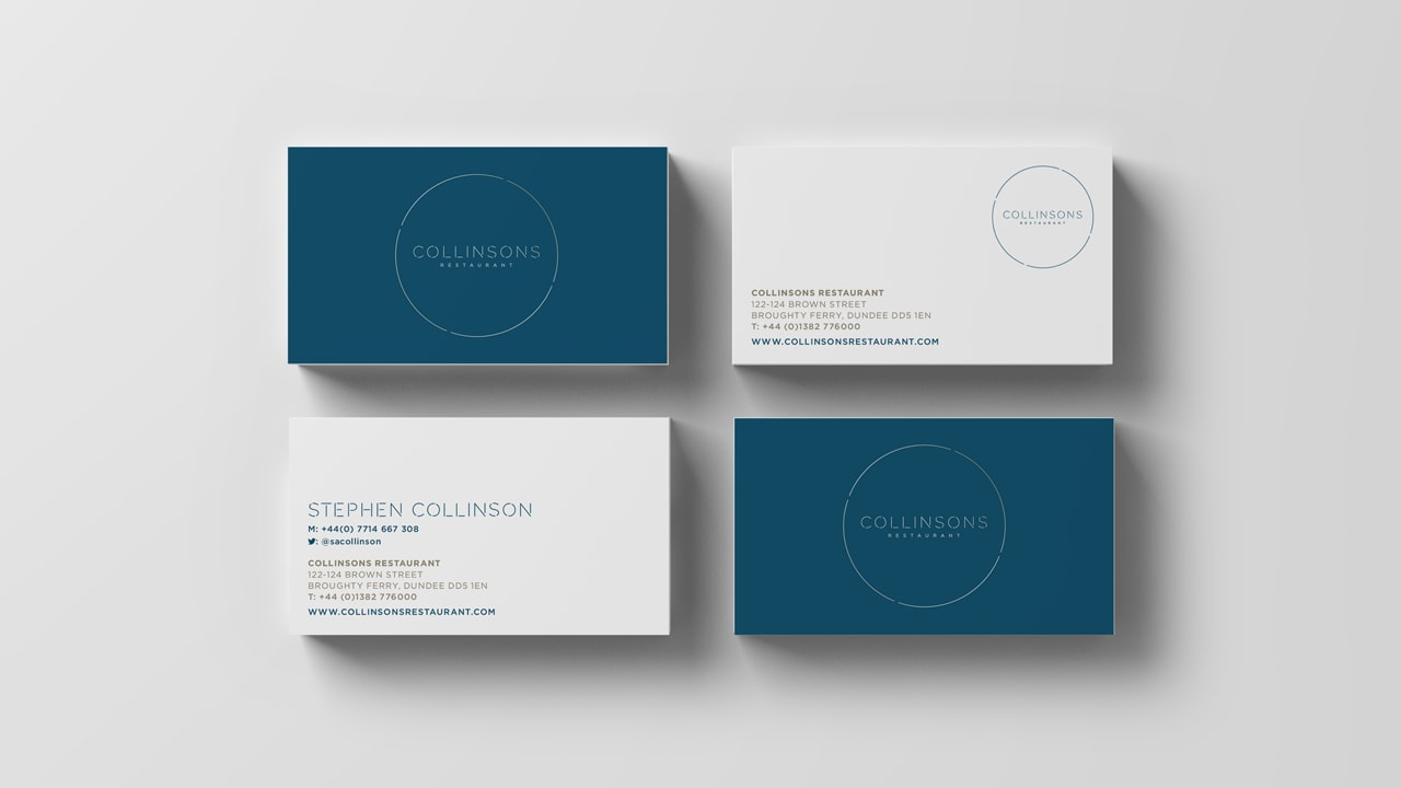 Collinsons Restaurant - Brand Design
