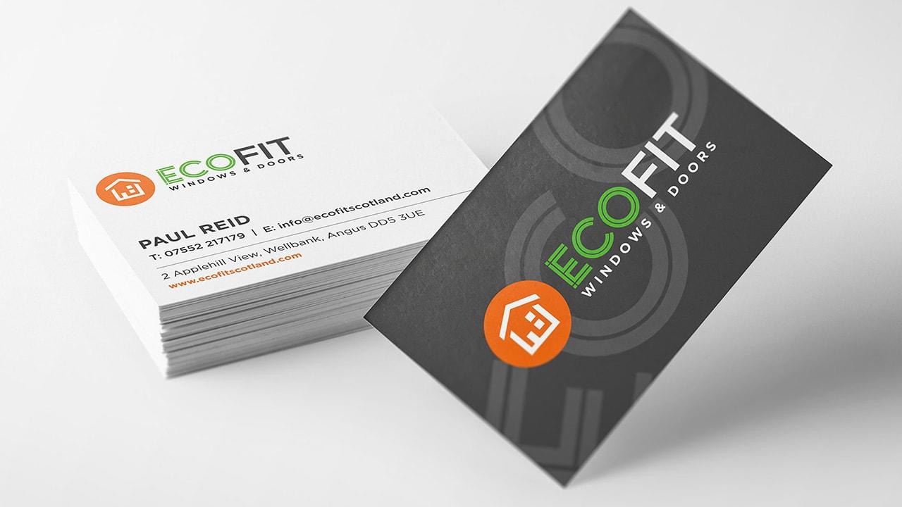Ecofit Business Card Design