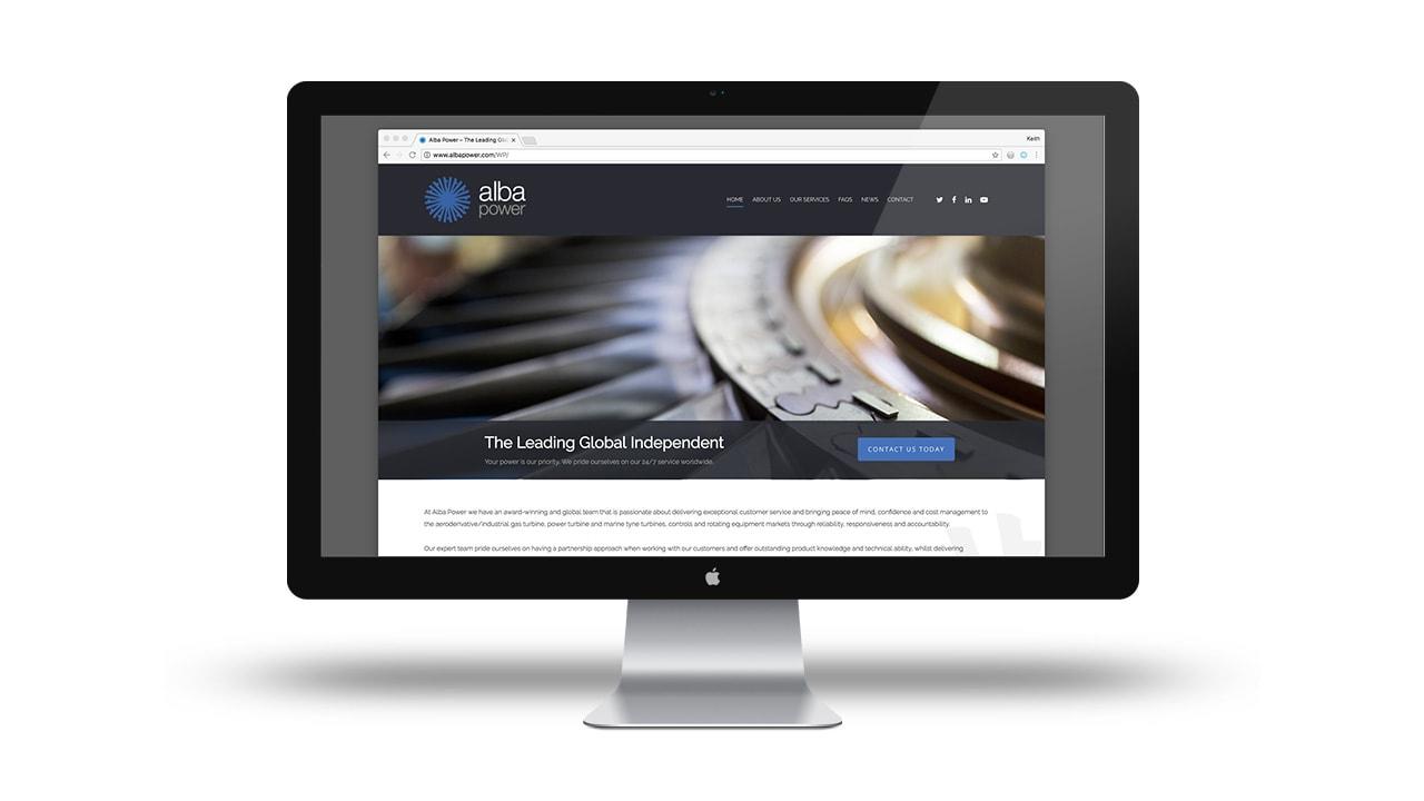 Alba Power Web Design