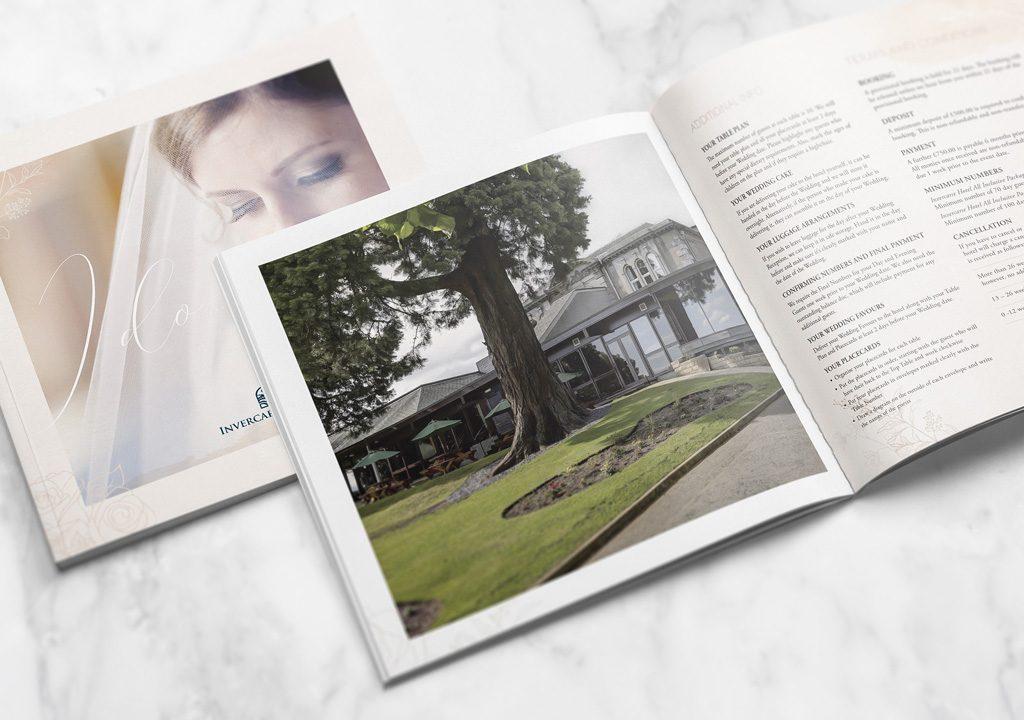 Invercarse Hotel Wedding Booklet