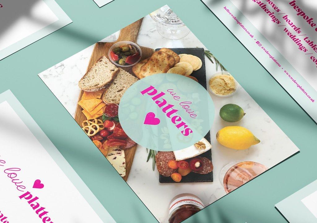 We Love Platters Flyer Design